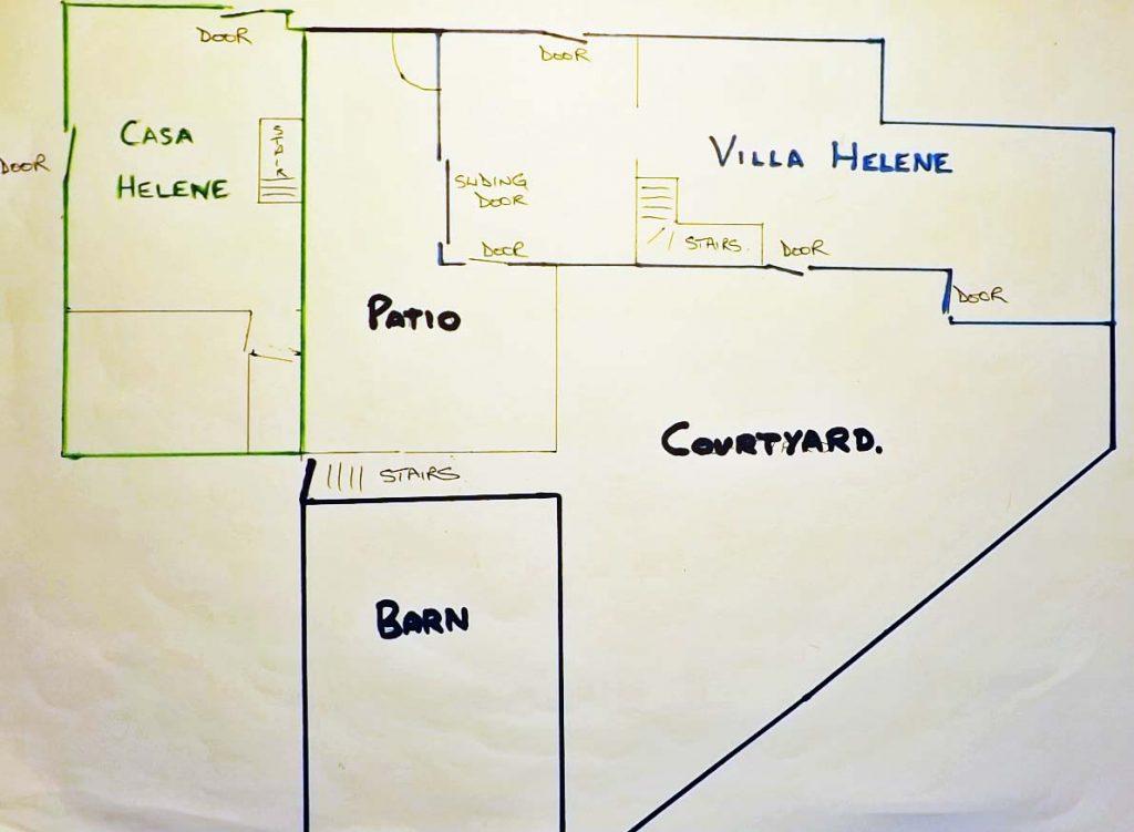 Plan of Helene Properties