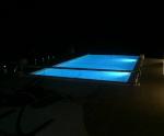 Mountain View Pool at Night